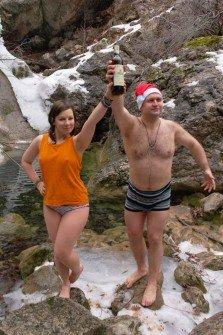 в Новый год в Крыму обязательно нужно искупаться!