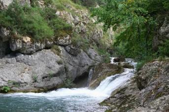 пороги Чернореченского каньона